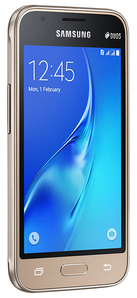 смартфон Samsung SM-J105H Galaxy J1 mini 2016 gold
