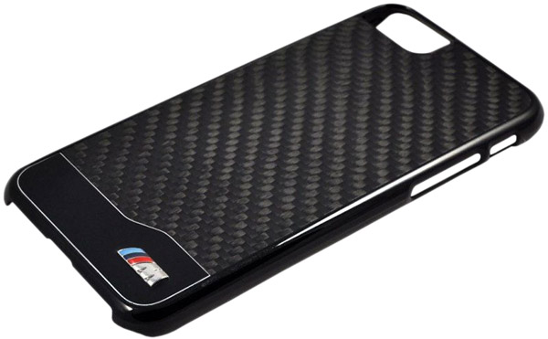 накладка BMW M-Collection Aluminium&Carbon iPhone 7 black