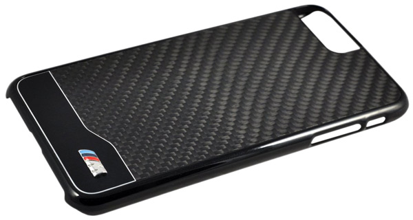 накладка BMW M-Collection Aluminium&Carbon iPhone 7 plus black