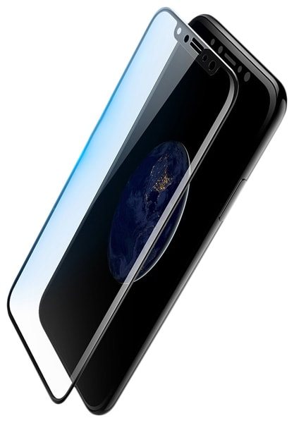 защитное стекло Rock 4D Curved Tempered Glass iPhone X  0.26 mm black