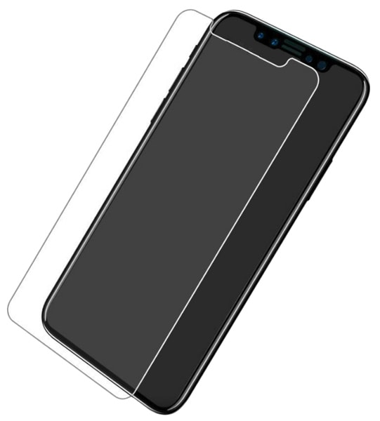 защитное стекло Rock HD Tempered Glass iPhone X  2.5D 0.26 mm transparent