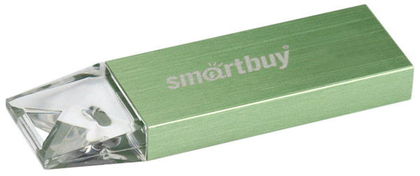 флешка USB SmartBuy U10 8Gb green