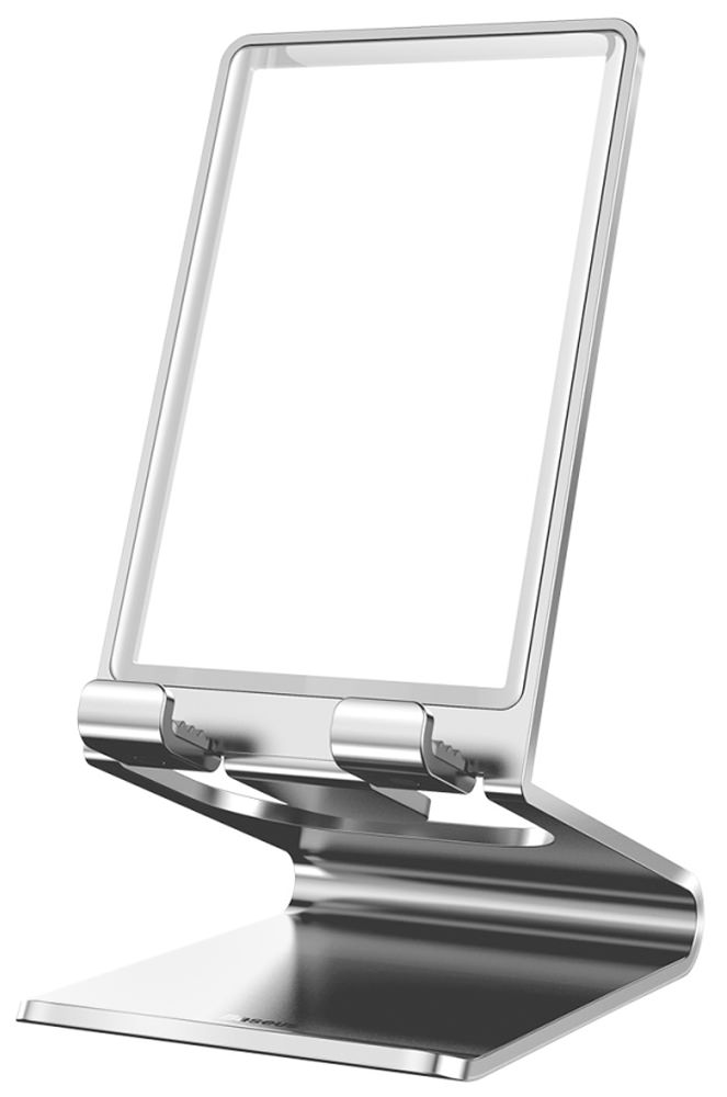 подставка для телефона Baseus Suspension glass Desktop Bracket silver