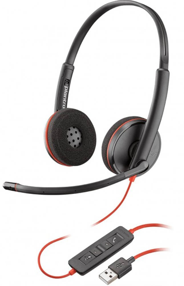 USB гарнитура для компьютера Plantronics BlackWire C3220-A (PL-C3220-A) black
