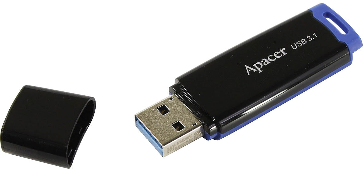 флешка USB 3.1 Apacer AH359 32Gb blue