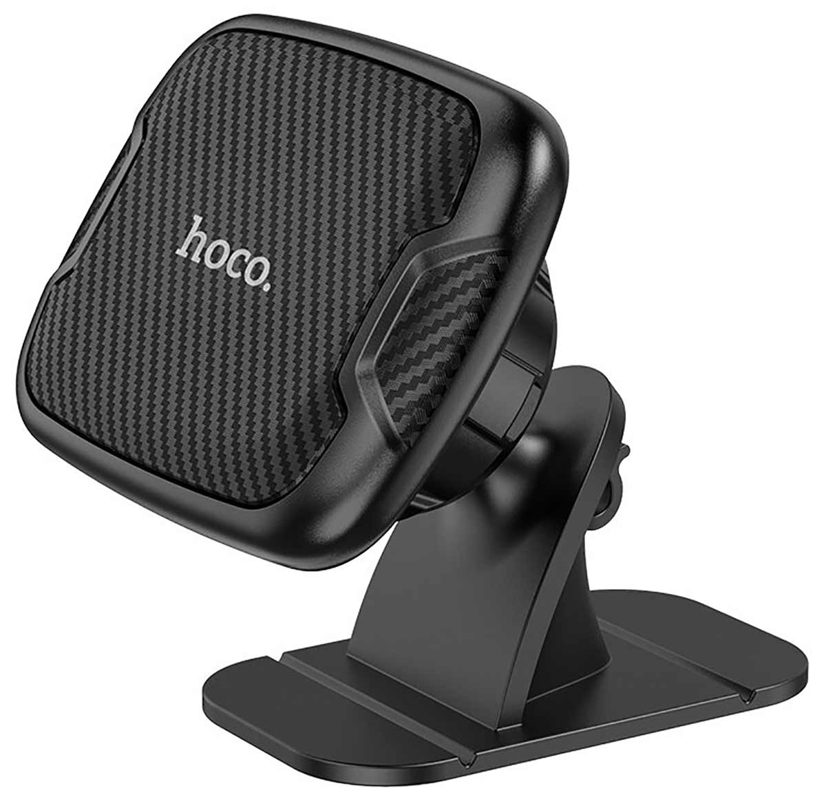 держатель на 3М скотче Hoco CA66 Sagittarius series center console magnetic car holder black