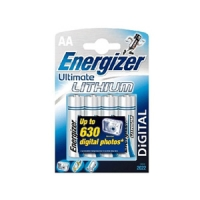 элемент питания Energizer LR6/L91/AA Lithium-4BL