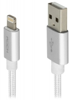 кабель для iPhone Rock Lightning to USB MFI Charge&Sync Round II 1м