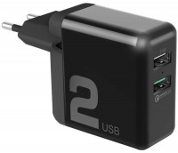 зарядное устройство Rock Space T13 Dual Port QC3.0 Travel Charger
