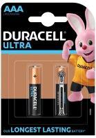 батарейки (2 шт.) Duracell LR03/AAA Ultra Power-2BL